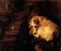 terrier at rest by philip eustace stretton