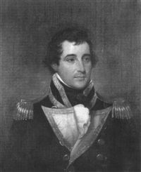 portrait of captain richardson by john trumbull
