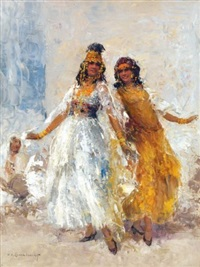 danseuses ouled-nails by william lambrecht