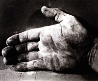 hand (3 works from double take) by dieter appelt