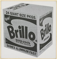 andy warhol brillo box, 1964 by richard pettibone