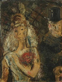 la mariée by édouard joseph goerg