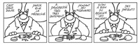 le chat est content-progrès de la médecine (for album) by philippe geluck
