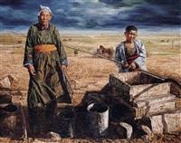 bartel's grandma by qi baocheng