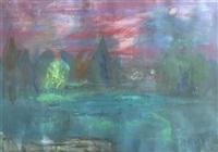 le jardin public au crépuscule by alexandre rochat