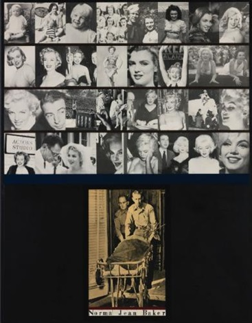 norma jean baker by peter blake