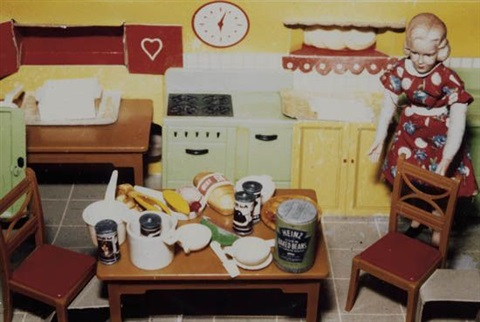 blondered dresskitchen by laurie simmons