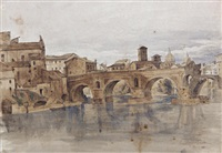 il ponte rotto a roma by ettore roesler franz
