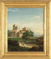 paesaggi (pair) by paolo anesi