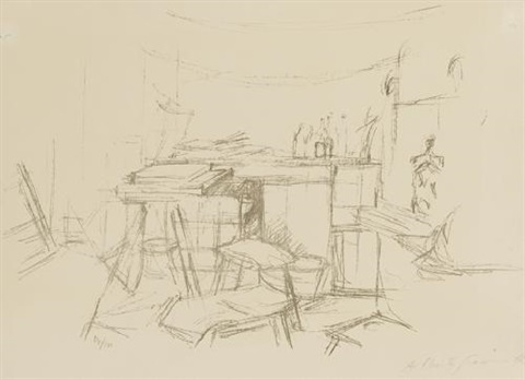 latelier aux bouteilles by alberto giacometti