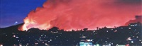 griffith park fire by saber