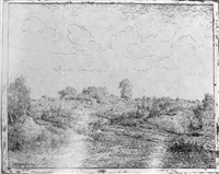 la plaine de la plante à biau by théodore auguste rousseau