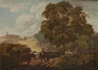 scène pastorale by john linnell