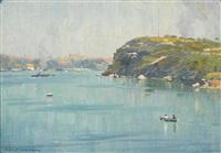 balls head, sydney harbour (circa 1927) by robert richmond campbell