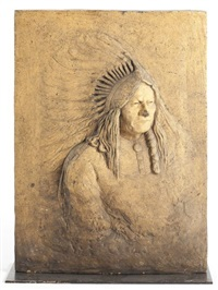 chief sitting bull (tatanka lyotanka) by edward kemeys