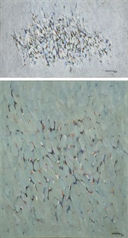sans titre (11 works; various sizes) by dikran daderian