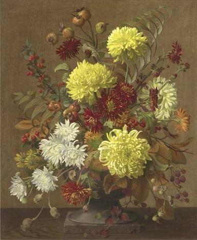chrysanthemums by john e. nicholls