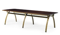 dining table (collab. w/ jean-pierre genisset) by andré renou