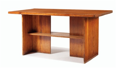 library table by frank lloyd wright