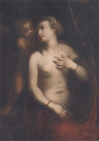 venus and cupid by jacopo zucchi