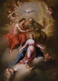 marienkrönung by johann evangelist holzer