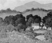 hilly landscape by james p. mcrickard