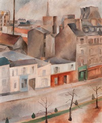 view of paris by anna maria blaupot ten cate