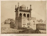 andu masjid, bijapur, karnataka by william henry pigou