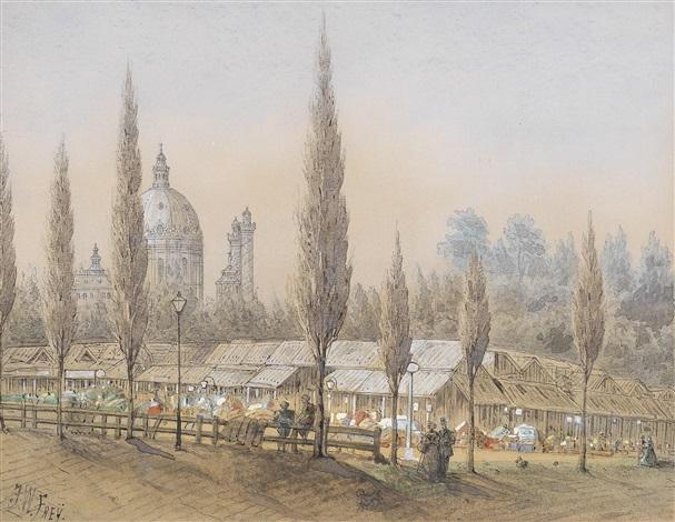 der alte tandelmarkt wo meine familie auf 80 schritt entfernung sehr oft vorbei ging zum kärntnerthor p pirquet by johann wilhelm frey