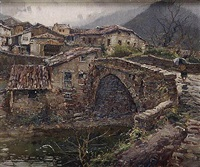 potes (puente viejo), santander by elías garralda