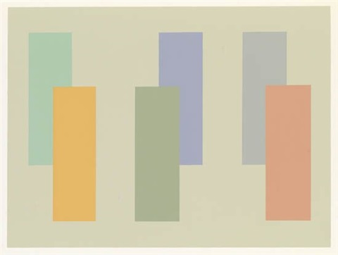 interaction of color (portfolio of 80) by josef albers