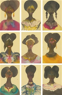 untitled (in 9 parts) by chris ofili