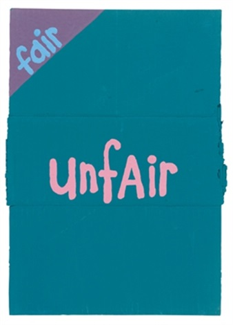 fair unfair by cary s leibowitz candyass