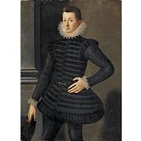 portrait of a young man (pietro di cosimo i di medici?) by agnolo bronzino
