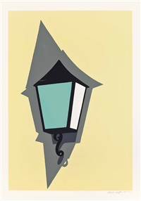 coach lamp by patrick caulfield