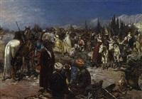 orientalischer markt by heinrich maria staackmann
