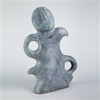 stylized figure by geroge arluk