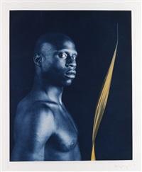 ken moody (nude with leaf) by robert mapplethorpe