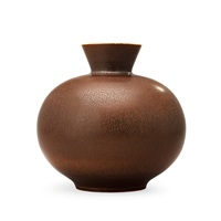 a berndt friberg stoneware vase by berndt friberg