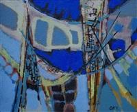l'ombre bleue by kees okx