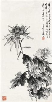 墨菊 (chrysanthemum) by xu zihe