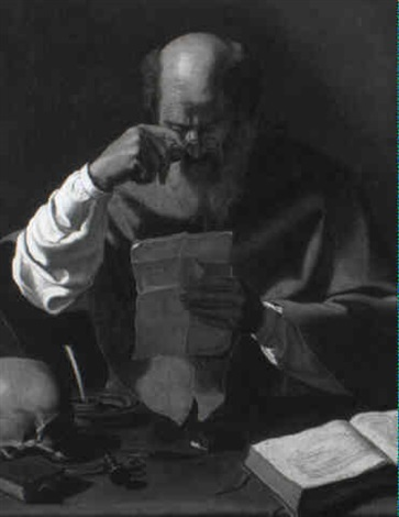 st jerome by georges de latour
