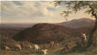 gathering the flock by william linnell