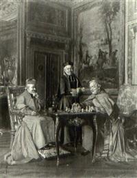 una partita a scacchi by gennaro avitabile