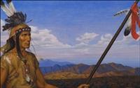 apache medicine man - tonto by antoine tzapoff