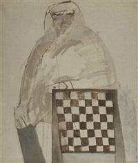 de schaakspeler by klaas gubbels