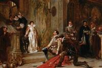 spoils of the heathen by robert alexander hillingford