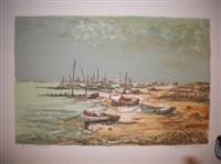bateaux à marée basse by maurice armand buffet