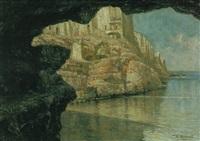 polignano vista dalla grotta palazzese by raffaelo armenise