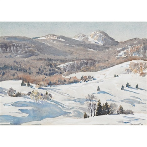 winter charlevoix by henry john simpkins